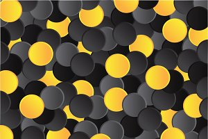 Background pattern design yellow