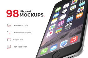 98 perfect iPhone 6 mockups