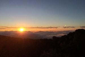 Sunrise moment
