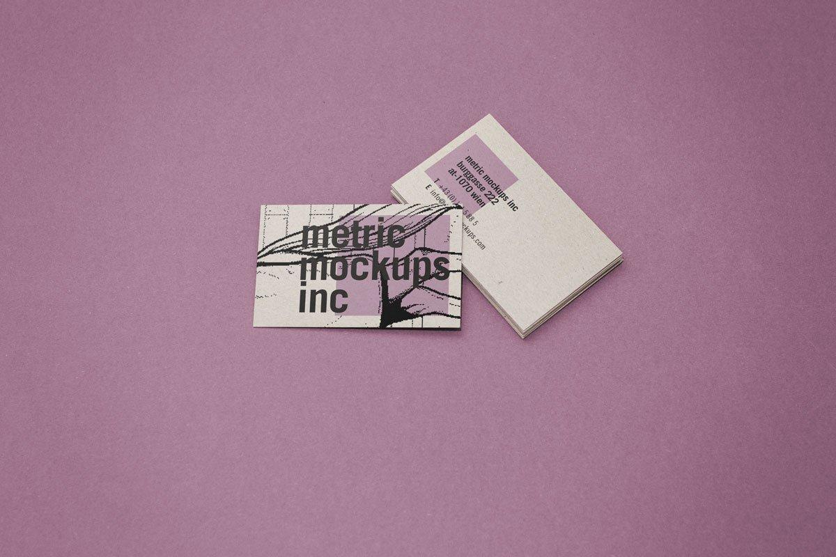 Photorealistic business card mockup product mockups creative market colourmoves