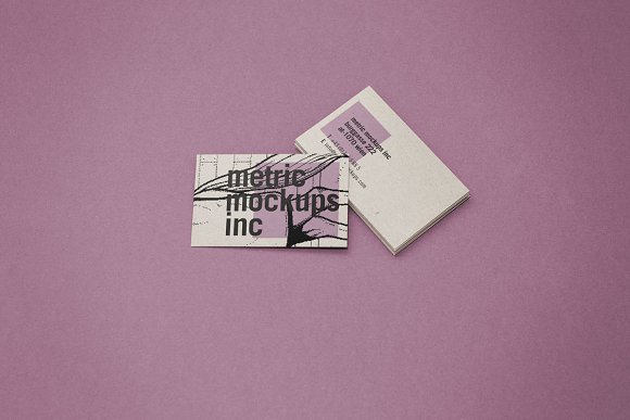 Download Photorealistic Business Card Mockup