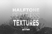 Halftone seamless textures