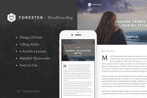 Forester - Classic Responsive Theme