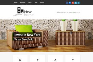 Newhome - a WP Real Estate Theme