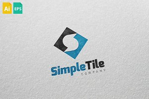 Simple Tile Logo