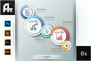 Abstract Infographic Paper Template