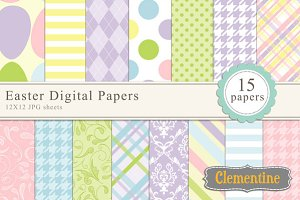 Easter Digital Papers