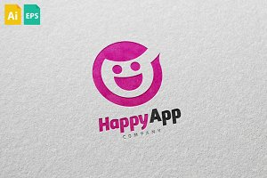 Happy App Logo