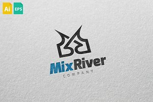 MixRiver Logo