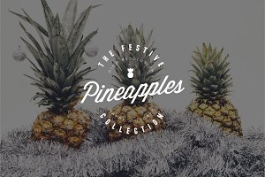 The Festive Pineapples Collection