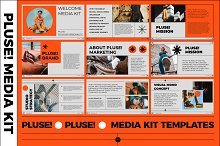 40%OFF PLUSE! Media Kit PowerPoint by  in Presentations