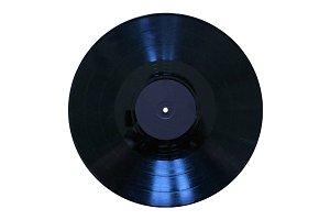 "Blank 33-1/3"" Vinyl Record"