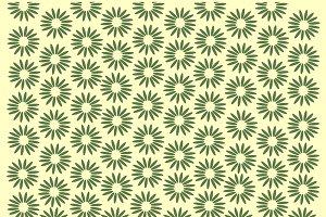 Vintage flowers pattern background