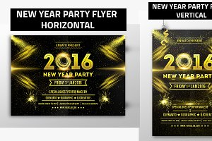 New Year Party Flyer 01