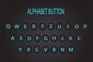Alphabet buttons type machine