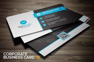 Corporate business card #9