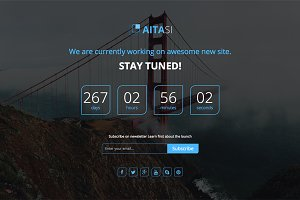 Aitasi - Coming Soon HTML5 Template