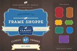 67 Classic Frames (Vector)