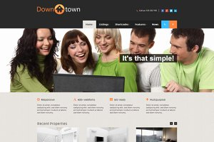 Downtown - Real Estate WordPress