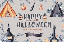 Halloween clipart by  in Graphics