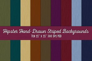 Hipster Striped Backgrounds