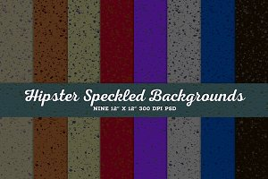 Hipster Speckled Backgrounds