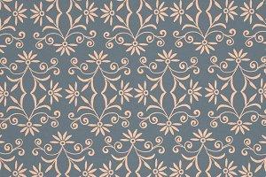 Antique Floral Pattern
