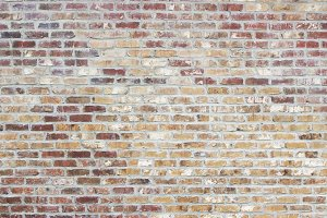 Multicolor Brick Wall Texture