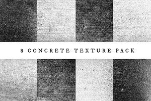 8 Concrete Texture Pack