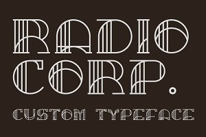 Radio Corp – Display Typeface