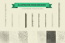 handmade texture vector brushes