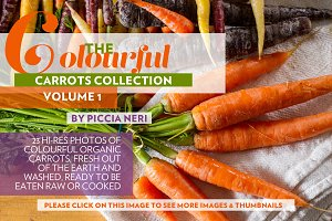 The Colourful carrots collection