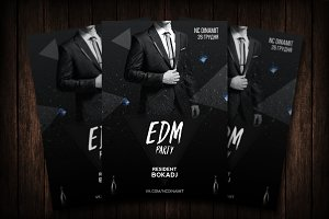 EDM Party Flyer