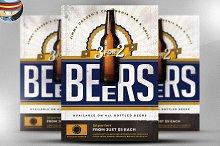 Vintage Beer Poster Template 4