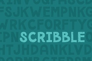Forfty Scribble Mini Font