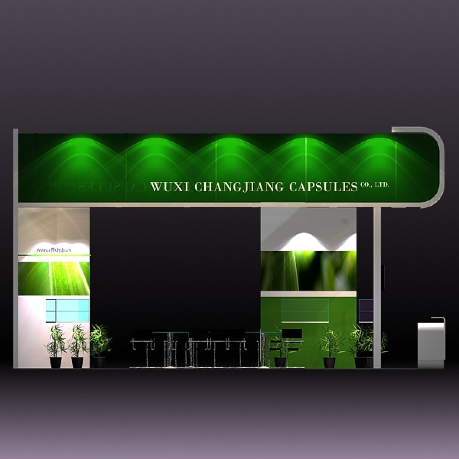 Exhibition Booth Obj : 4 exhibit booth design for tradeshow ~ architecture models