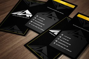 Tri - Business Card Template