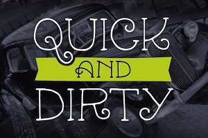 Quick & Dirty Mini Font