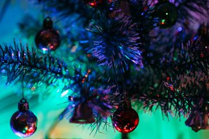 Christmas tree colors