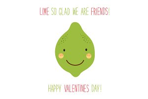 Cute Valentines Day card