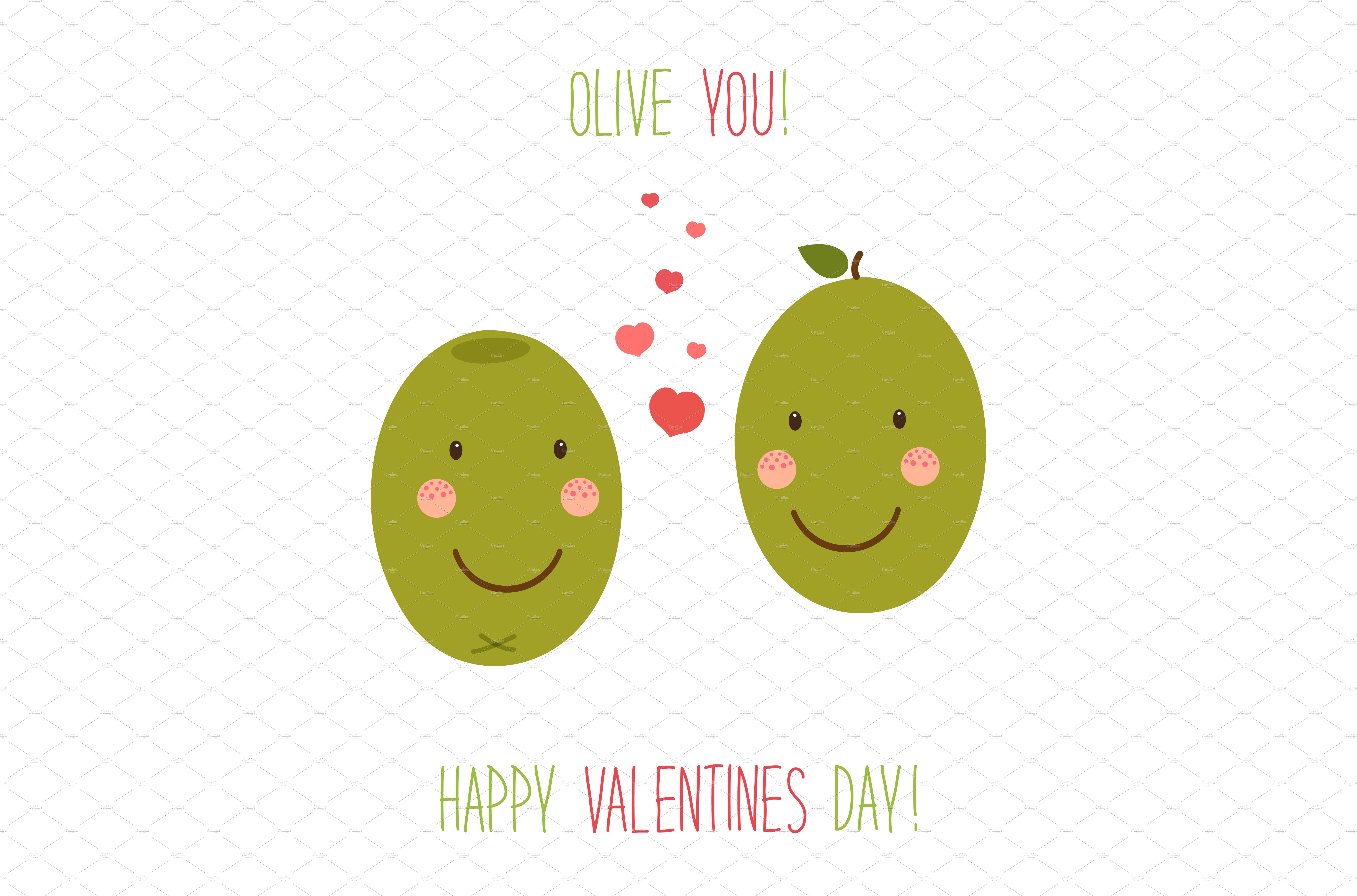 Cute Valentines Day card Graphics on Creative Market – Cute Valentines Day Card