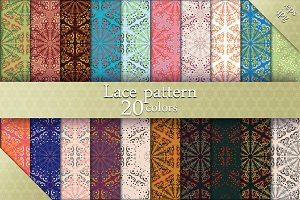 20 lace patterns