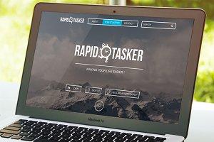 Freelance work site PSD Template