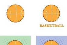 Abstract Basketballs Collection