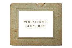 Vintage Aged Photo Frame