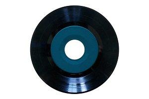 "Blank 45"" Vinyl Record"