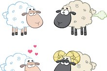 Funny Sheep Collection - 4