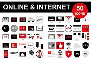 50 Internet Icons