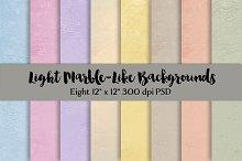 Light Marble-Like Backgrounds