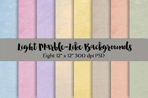 Light Marble-Like Backgrounds